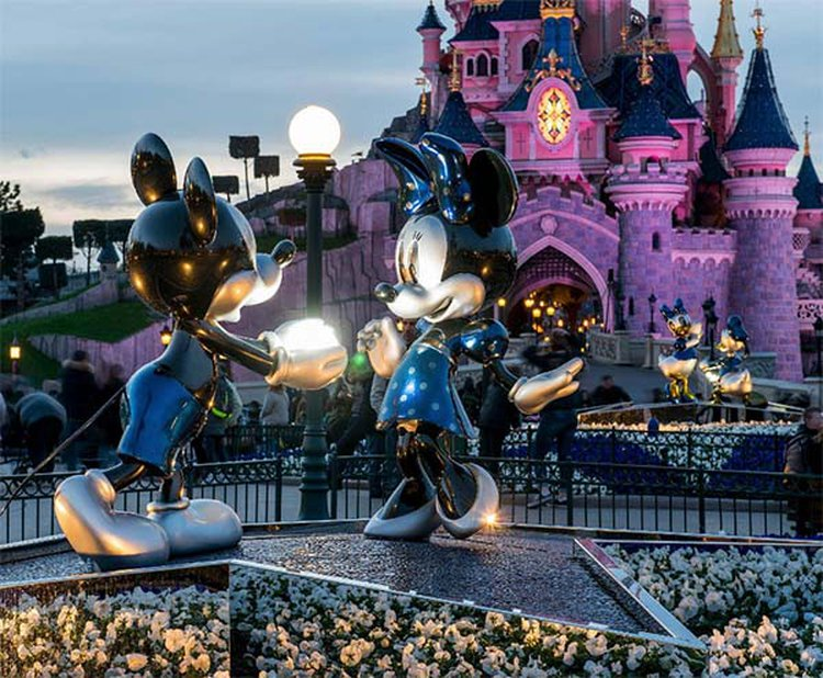 Disneyland Paris Named the World's Most Popular Place to Pop the Question